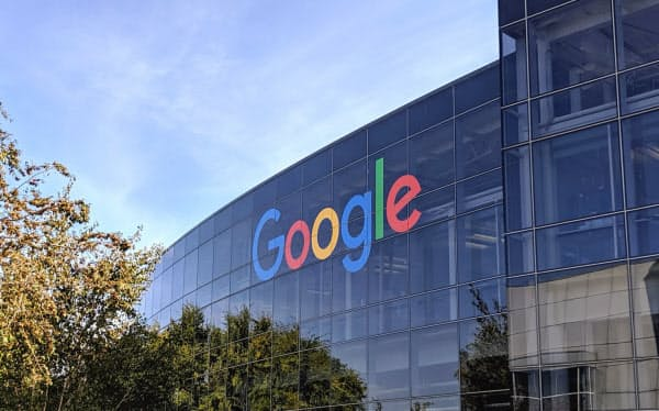 米司法省は米グーグルのスマートフォンにおける影響力の大きさを問題視している(カリフォルニア州マウンテンビュー市の同社本社)