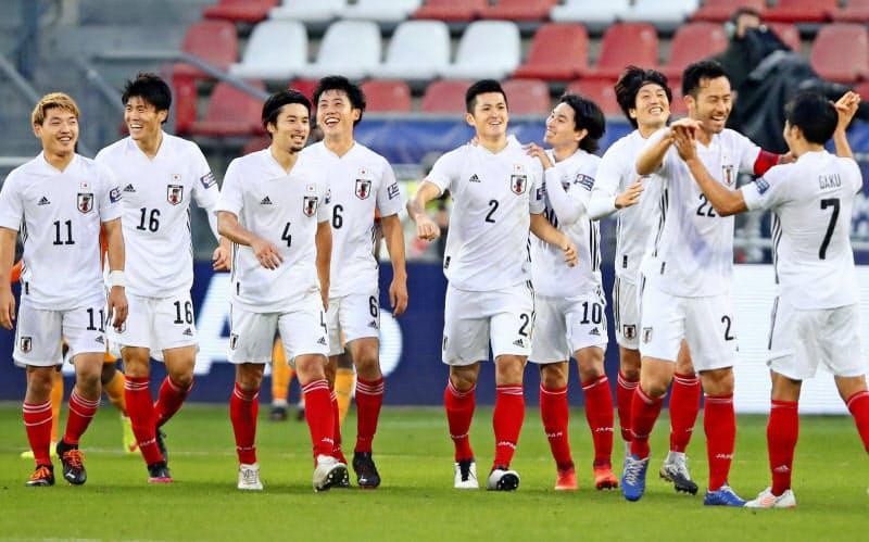 オランダでの強化試合は2試合ともに対戦相手も日本もコンディションが良く、W杯のように高い強度で行うことができた(ゲッティ=共同)