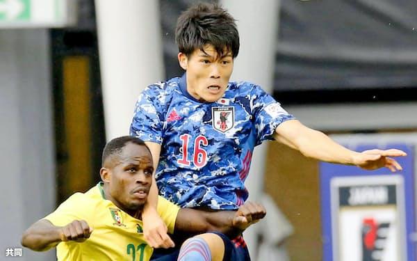 2試合とも無失点。吉田、冨安、酒井宏らによる守備の安定感は特筆ものだった=共同