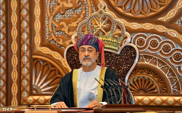 1月に即位したオマーンのハイサム国王=ロイター