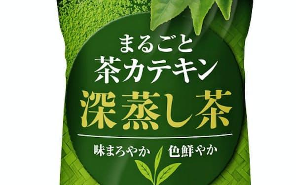 伊藤園が発売する緑茶飲料「お~いお茶 まるごと茶カテキン 深蒸し茶」