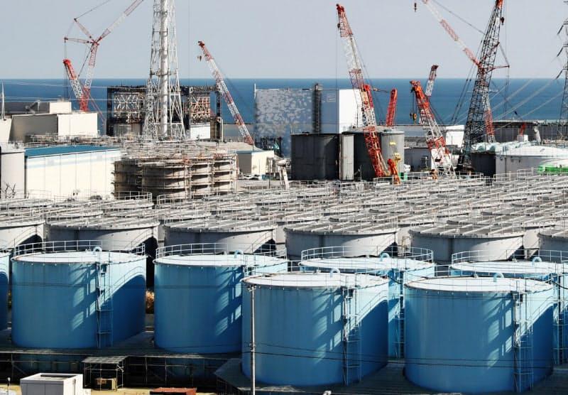 東電HDは原発事故関連の賠償を進めている(東京電力福島第1原子力発電所)