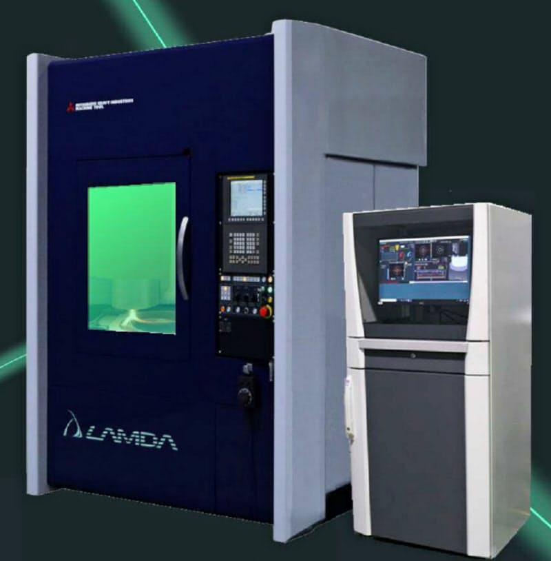 三菱重工が販売する金属3Dプリンターとモニタリング装置
