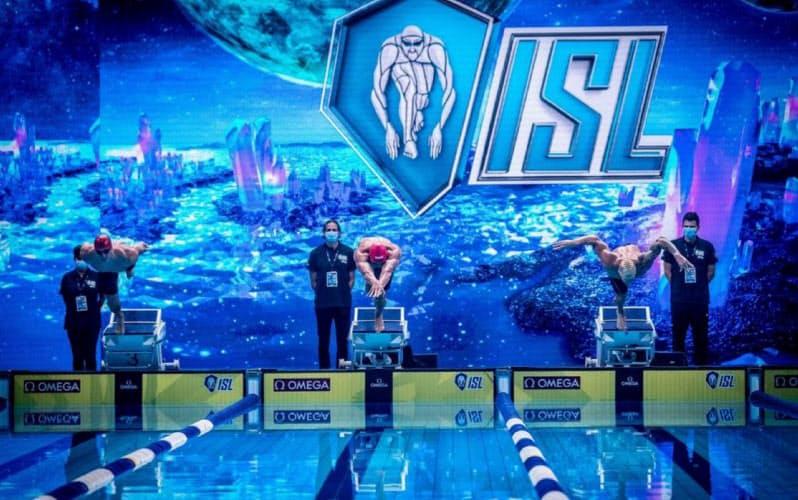 ISLはエンターテインメント性が強い、競泳としては画期的な大会だ (C)ISL