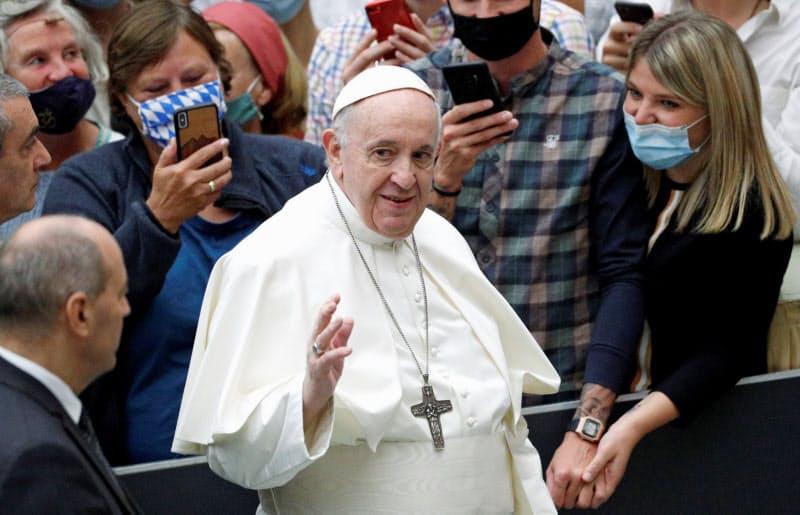 ローマ教皇フランシスコはアジア重視の姿勢を鮮明にしている(10月、バチカン)=ロイター