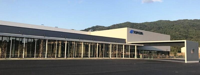 トプコンオプトネクサスの新工場(福島県田村市)