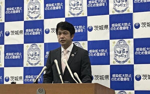 大井川知事は処理水の海洋放出が決まれば独自の風評対策を考える姿勢を示した