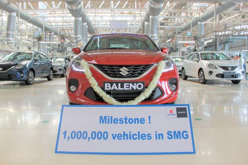 スズキはインド・グジャラートの工場で累計生産100万台を達成した