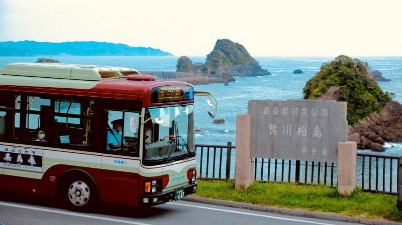 日東交通が路線バスを運行するエリアは人口減が進んでいる