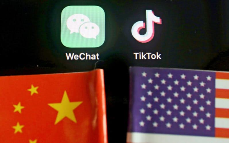 個人データの管理を厳格化する新法には、中国企業への強硬姿勢を強める米国へ対抗する姿勢がにじむ=ロイター