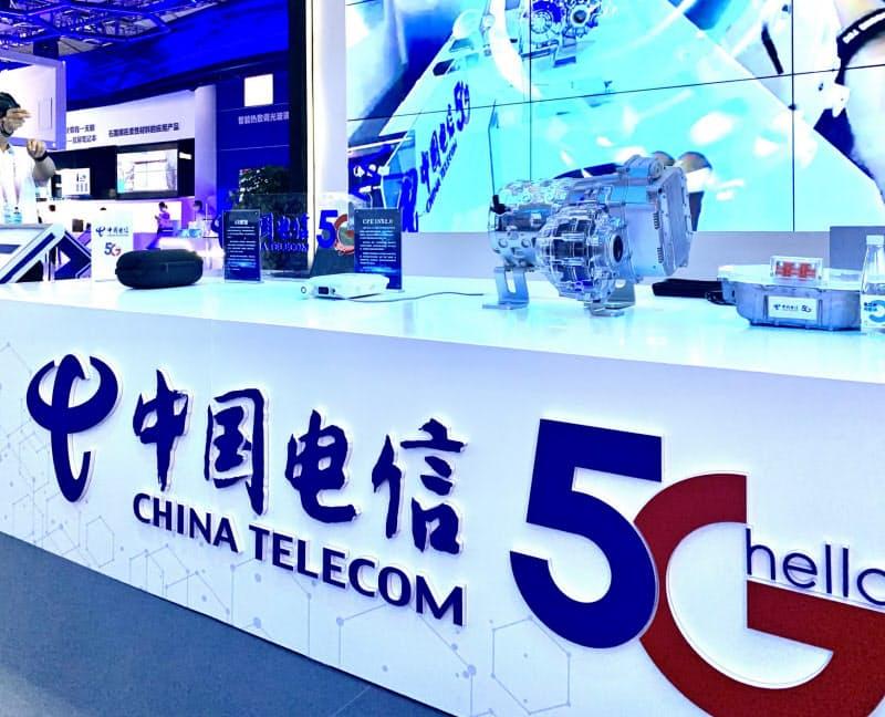 中国では5Gの普及が急速に進む(9月に重慶市で開かれた展示会)
