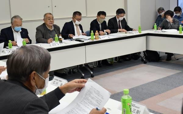 本格操業開始に向けた議論を始めた(23日、福島県いわき市)