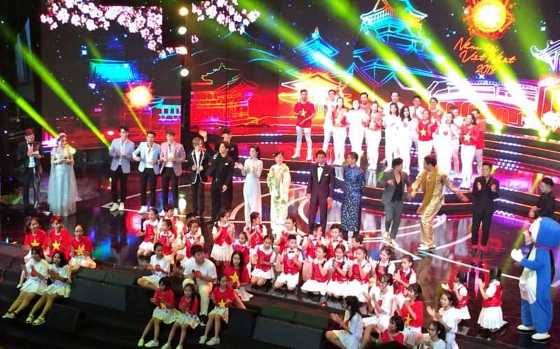 日本の歌はベトナムでも人気(2018年、ハノイで開かれた日越友好音楽祭)