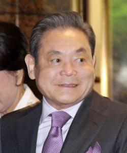 サムスン電子の李健熙(イ・ゴンヒ)会長(2012年)