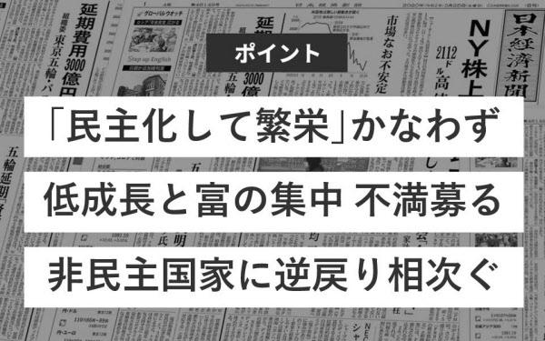 民主主義 なぜ少数派に?: 日本経済新聞