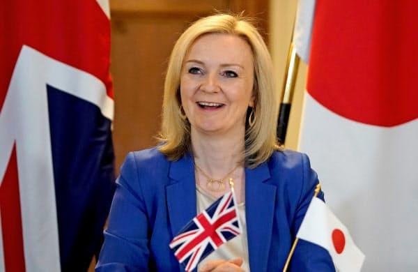 日英は経済連携協定に署名した(トラス国際貿易相)