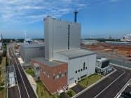 ユナイテッド計画などが2016年に稼働させた秋田市内のバイオマス発電所