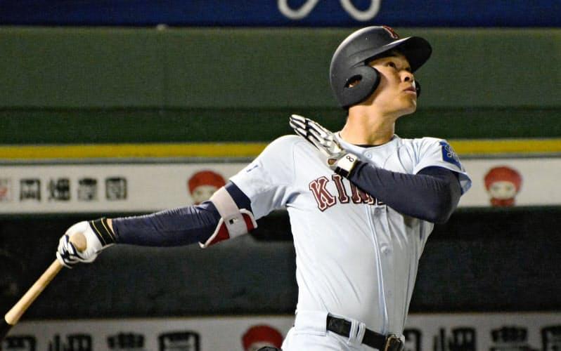 近大・佐藤の交渉権は阪神が獲得=共同