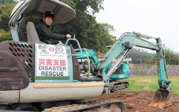 日本笑顔プロジェクトの林映寿氏