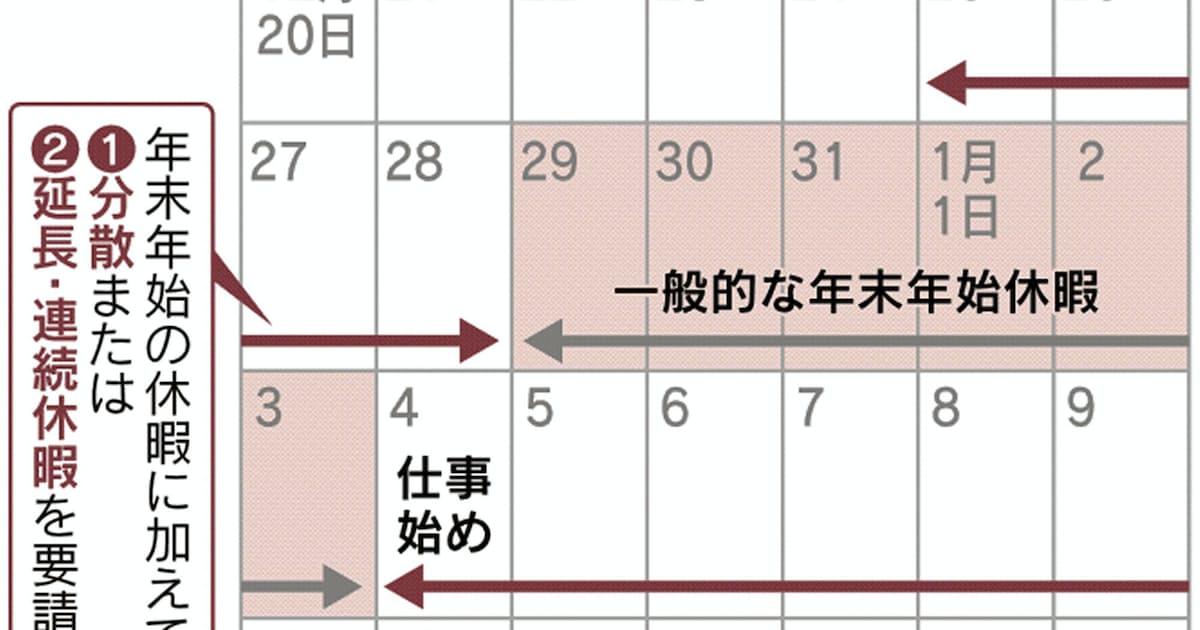 正月 休み 延長