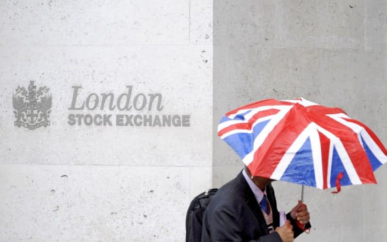 ロンドンは欧州最大の株式取引規模を誇る(ロンドン証券取引所)=ロイター