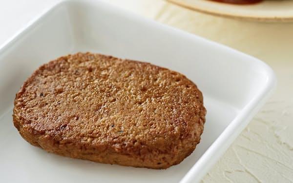 無印良品で販売する大豆ミートハンバーグ