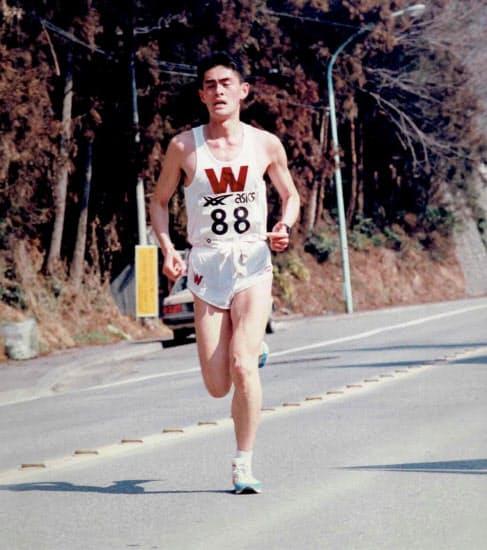 大学1年で出たレースの写真は大事な思い出の品のひとつ