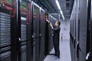 在宅勤務の広がりでデータセンター事業が好調