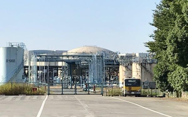 生産停止が決まったENEOSの知多製造所(愛知県知多市)