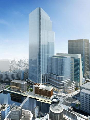 2021年度工事着工予定の「日本橋一丁目中地区第一種市街地再開発事業」