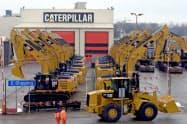 北米市場を中心に建設機械と鉱山機械の需要減が続いた=ロイター