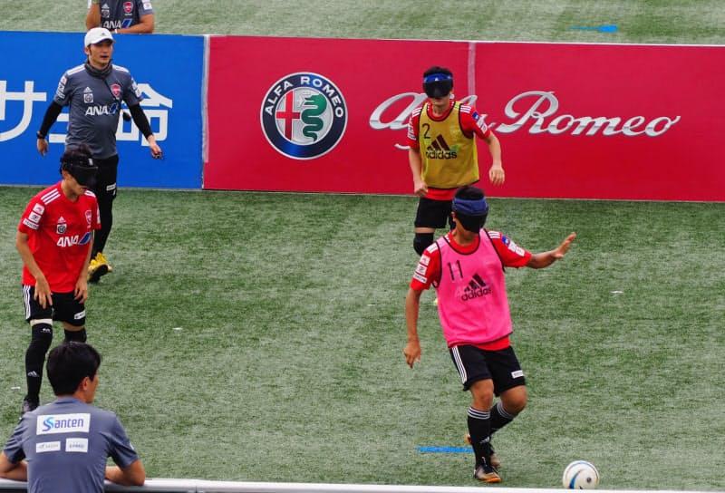 ブラインドサッカー日本代表の強化にとどまらず、視覚障がい者の雇用創出などでも連携する