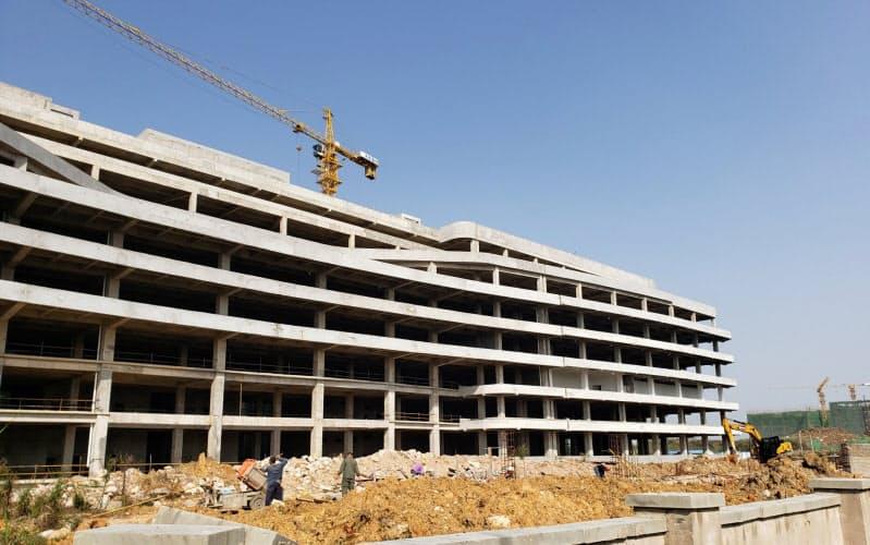 武漢市の弘芯半導体は工場建設が頓挫している