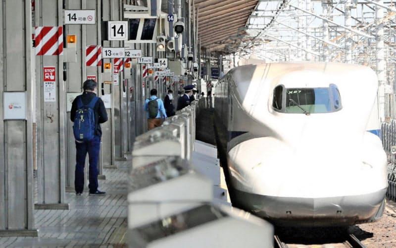 JR東海は東海道新幹線の利用減が業績低迷につながっている(名古屋駅)