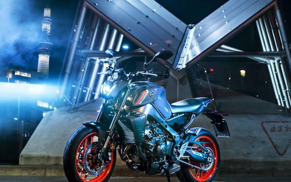 全面改良したロードスポーツバイク「MT-09 ABS」(欧州仕様)