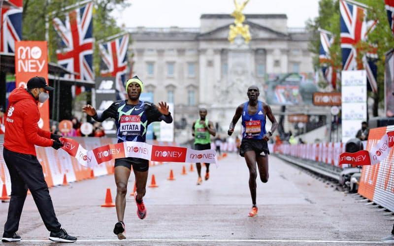 エリート選手のみで行われたロンドンマラソンに日本選手の姿はなかった=AP