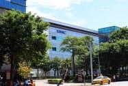 台湾半導体大手UMCの7~9月期は、大幅な増益となった(10月、新竹市)