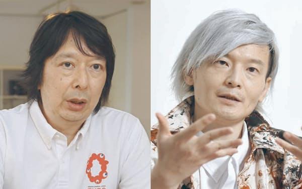 石川氏(左)と宮田氏