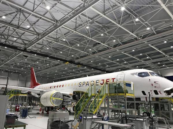 スペースジェットは事実上、事業化を凍結する