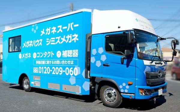 トラックを改造した移動店舗。1日30万~40万円を売り上げることも