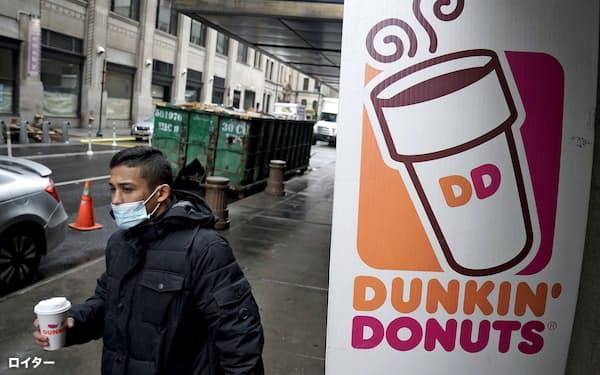 ダンキンはダンキン・ドーナツやアイスクリームのバスキン・ロビンスなど2万1千店を米国内外に展開している=ロイター
