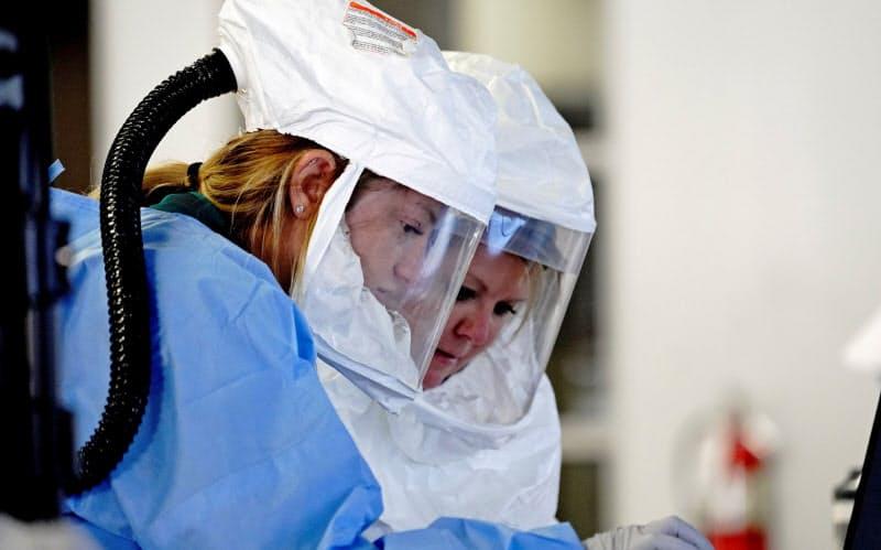 米、コロナ新規感染9万9000人 米欧で最多更新