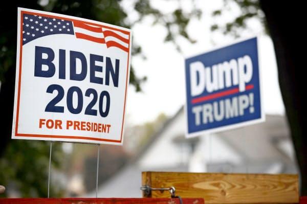 米大統領選は最終盤に入った=ロイター