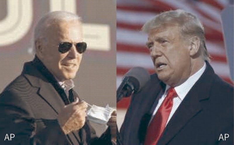 最終盤、「ラストベルト」で攻防 米大統領選