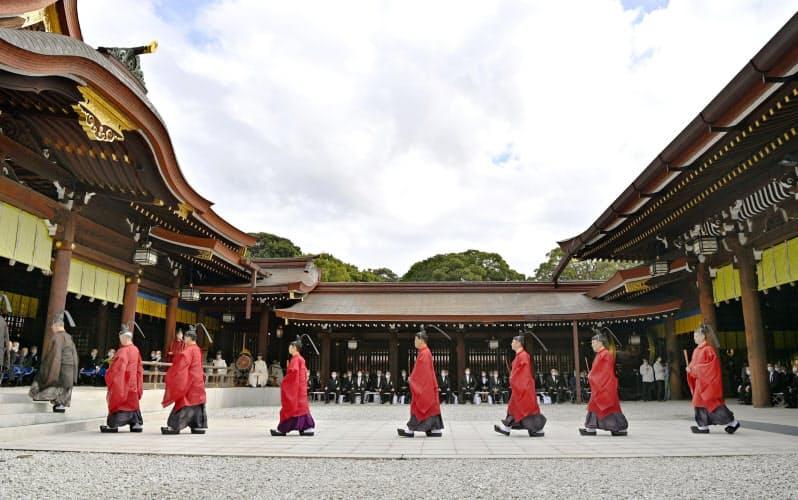 明治神宮で「鎮座百年祭」