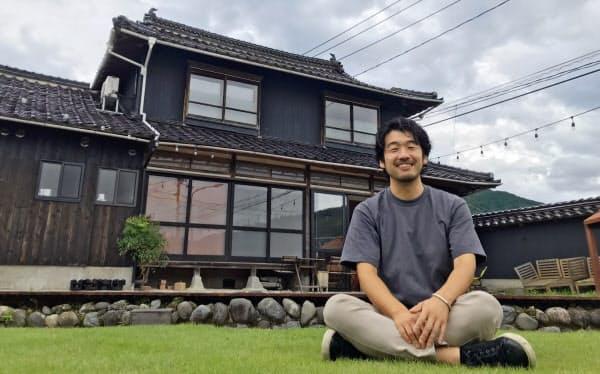 山田さんは様々な人が交流するゲストハウスが夢だった(BASE8823で)