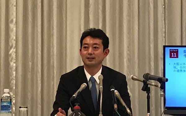 千葉市の熊谷市長は2021年の千葉県知事選への出馬を表明した(2日、千葉市)