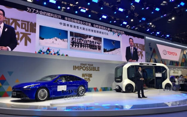 トヨタの中国事業は好調が続く(9月の北京国際自動車ショー)