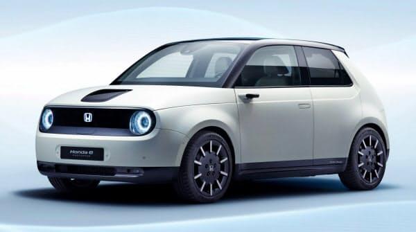 日本電気硝子のディスプレイ用ガラスを採用したホンダの電気自動車「ホンダe」