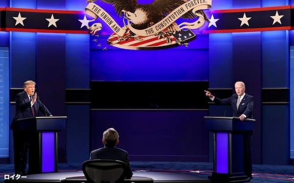 主要メディアは前回選挙の反省から明確な勝利者予想を出していない=ロイター